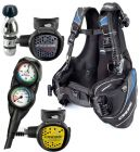 Cressi Travelight Scuba Gear Travel Package