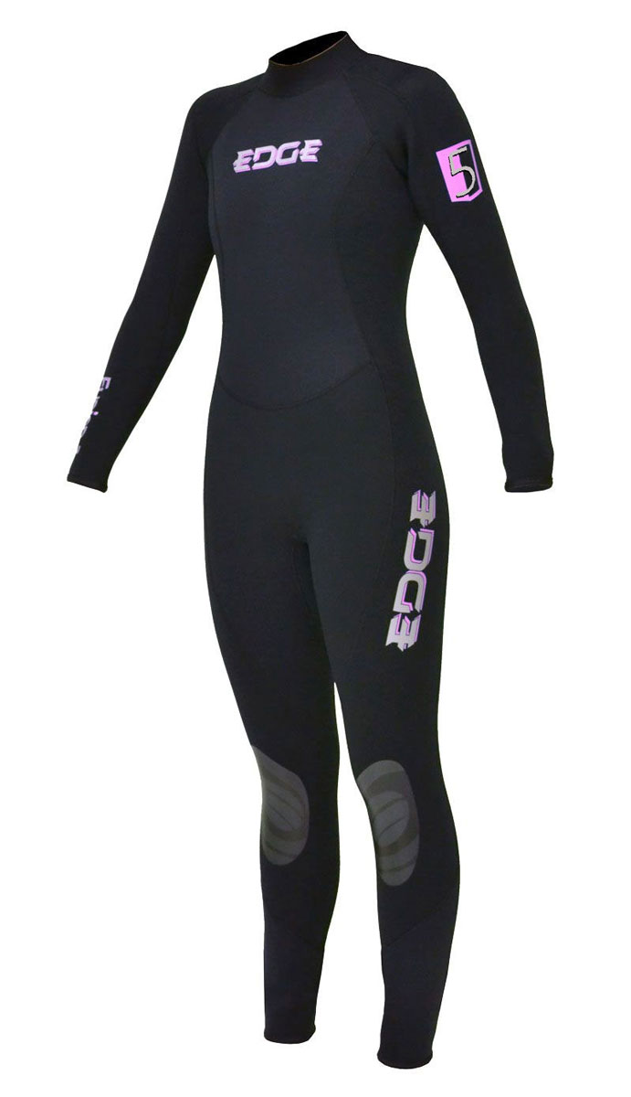 b874e540efd1 Edge Flex Fusion 5mm Full Wetsuit Womens