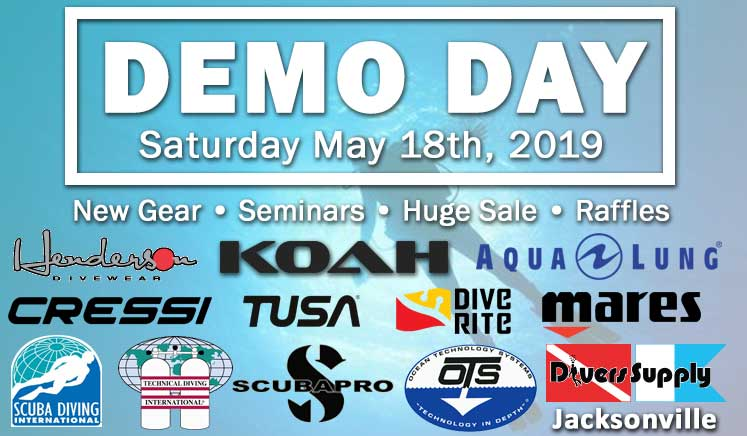 Divers Supply Jacksonville - Demo Day