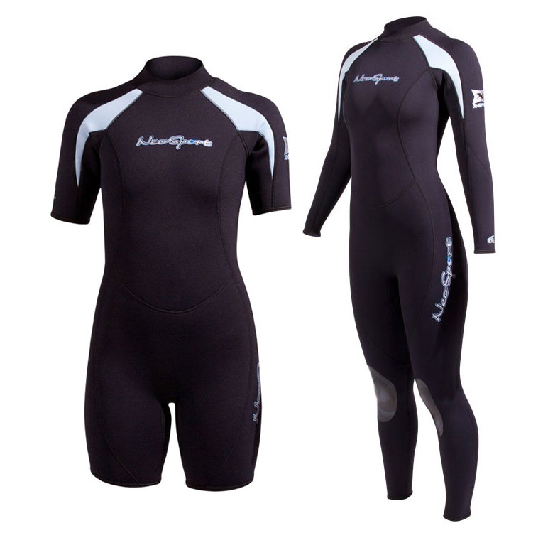 Neosport Xspan Suit and Shorty Combo Ladies 6878524d9
